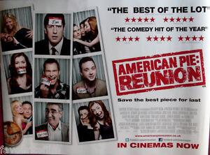Cinema Poster American Pie Reunion 2012 Review Quad Jason Biggs Tara Reid Ebay