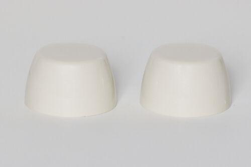 Kilgore Color Toilet Bolt Caps Set of  2 ALMOND