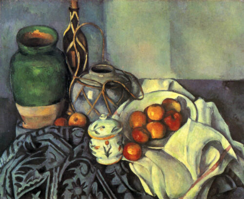 PAUL CEZANNE STILL LIFE WITH A3 FAMOUS PAINTERS CLASSIC PAINTINGS Posters #4