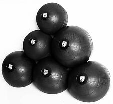 Slam Ball 45 LB Fitness Solutions LLC Medicine Ball With Rubber Shell Medicine