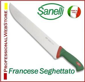 COLTELLO-SANELLI-FRANCESE-SEGHETTATO-PER-PESCE-cm-33-coltelli-professionali