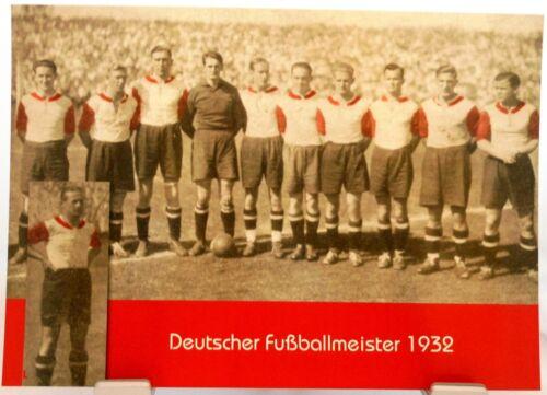 FC Bayern München Fan Big Card Edition F25 Deutscher Fußball Meister 1932