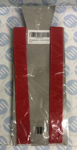 25mm Unisex Womens Mens Braces Plain Red Wide /& Heavy Duty Suspenders *new*
