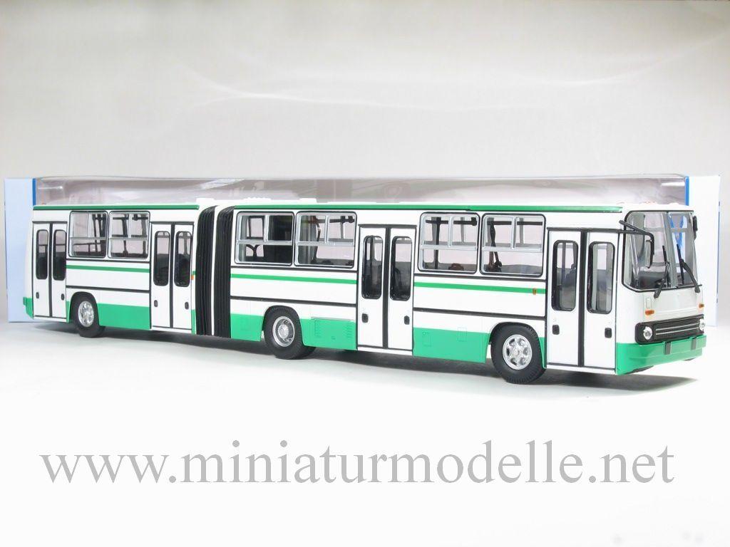 1 43 Ikarus 280 ville lignes bus articulé schlenki RDA Russe Soviet Bus Hongrie