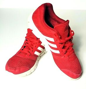 Details about ADIDAS Running Shoes MENS Size 9 Red/White Color!!