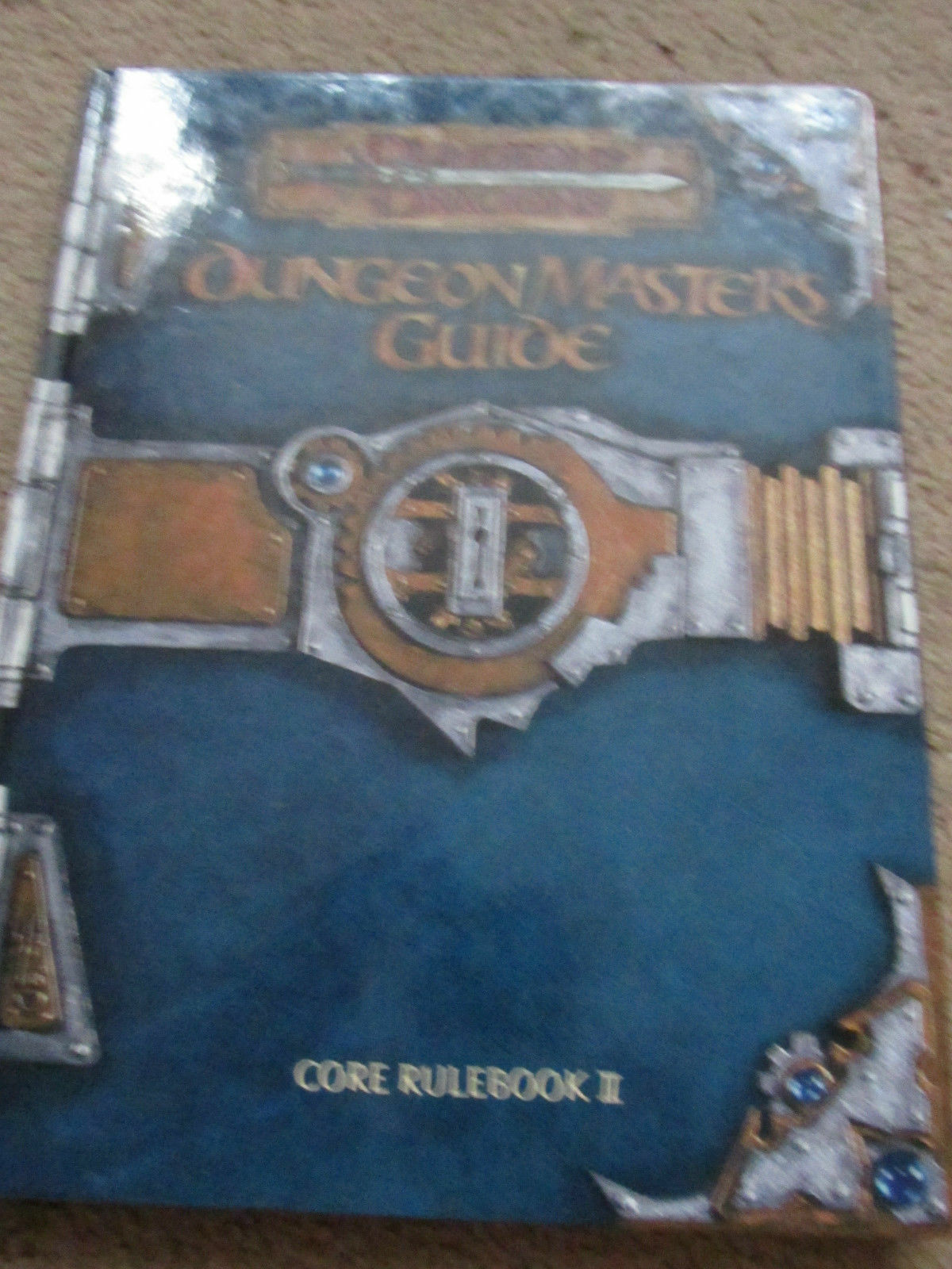 WOTC D20 3E D&D DUNGEON MASTERS GUIDE DMG  DUNGEON DRAGON HB HC RPG VGC