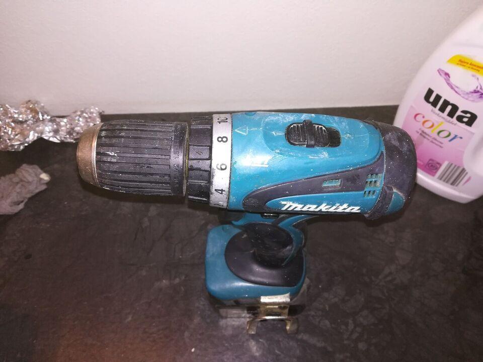 Skruemaskine, Makita 14,4 volt