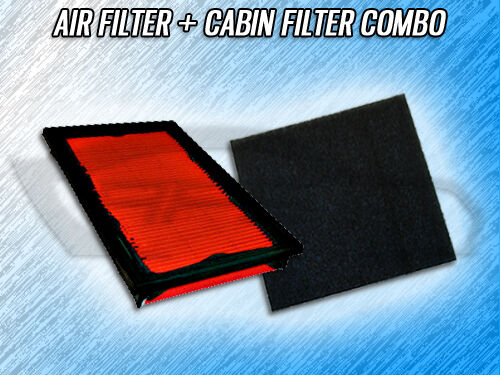 AIR FILTER CABIN FILTER COMBO FOR 2000 2001 2002 MAZDA 626