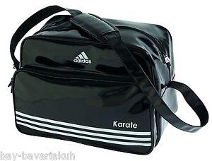 adidas karate retro tasche sporttasche trainingstasche tragetasche bag schwarz ebay. Black Bedroom Furniture Sets. Home Design Ideas