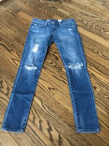 64f5986a4db7e1 AG Adriano Goldschmied Legging Ankle Jeans in 11 Years Swapmeet Size ...