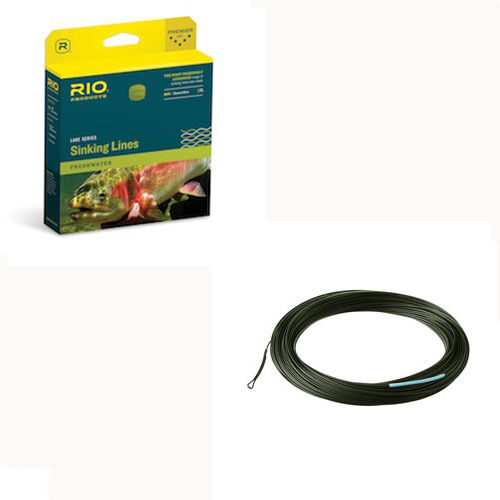 Rio InTouch Deep 3 Fly Line, New  wFree Shipping in US