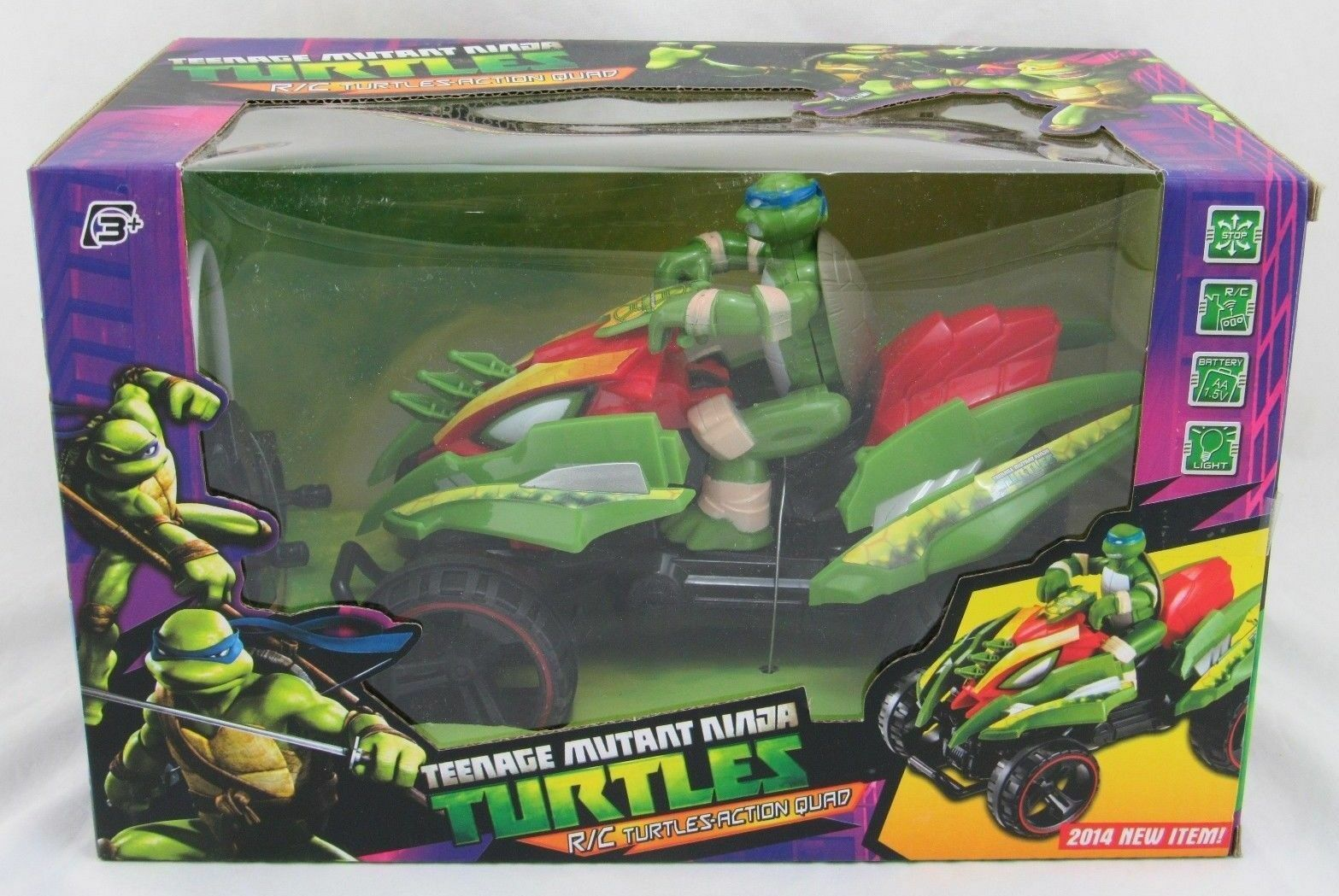 Teenage Mutant Ninja Turtles RC Turtles Action Quad, New in Box