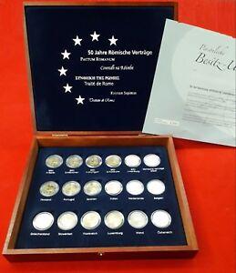 ESTUCHE-2007-2-EUROS-x-17-MONEDAS-50-ANOS-DEL-TRATADO-DE-ROMA-MAS-MEDALLA