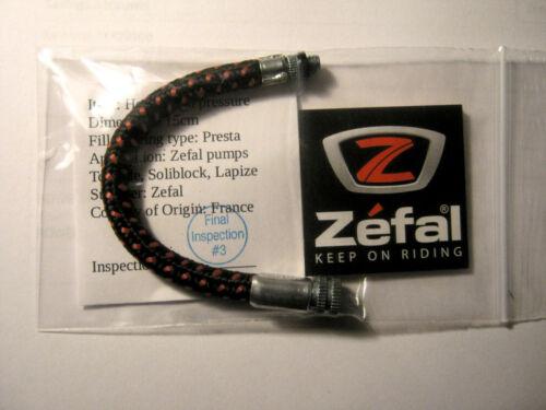 "Zefal Tornade Solibloc Bike Frame Pump NEW  /""PRESTA/""  High Pressure hose"