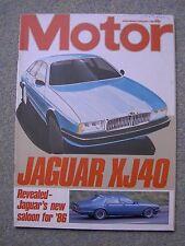 Motor (2 Feb 1985) Jaguar XJ40, XJ6, AJ6, Astra 1300, VW Type 2 4WD, Granada