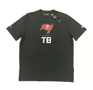 a97c7b7e Details about NEW Under Armour Tampa Bay Buccaneers Combine Authentic T  Shirt Tee Gray Mens