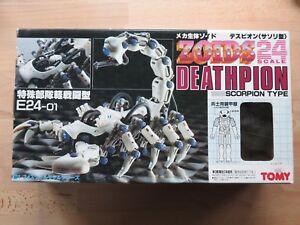 Zoids Original Japonais 24 Échelle En Boîte Deathpion Tomy 1987