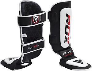 RDX Shin Instep Guards MMA Boxing Leg Kick Support Foot Protector Pad Muay Thai