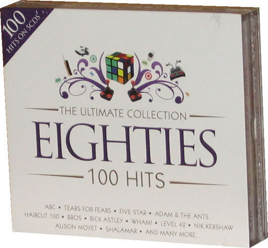The Ultimate Collection Eighties Ultimbx002 Cd Album Ebay