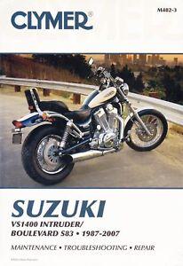 CLYMER REPAIR MANUAL SUZUKI VS1400 INTRUDER BOULEVARD