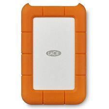 LaCie 2TB Rugged USB 3.0 Type-C Portable External Hard Drive STFR2000400