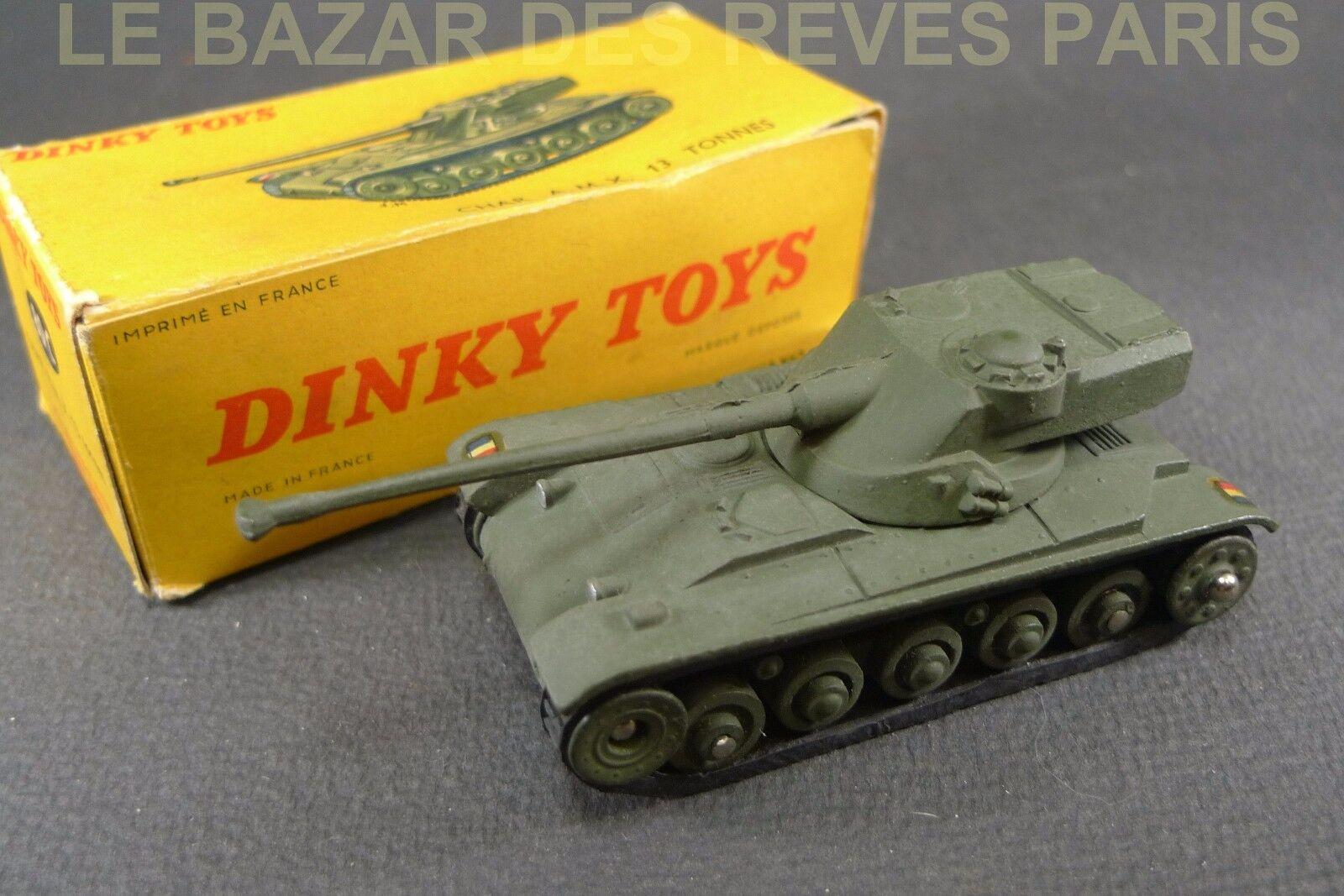 DINKY TOYS FRANCE. AMX 13. + boite. REF  80 C.