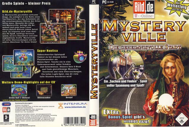 Mysteryville: Die geheimnisvolle Stadt * Wimmelbild-Spiel * (PC, 2007, DVD-Box)