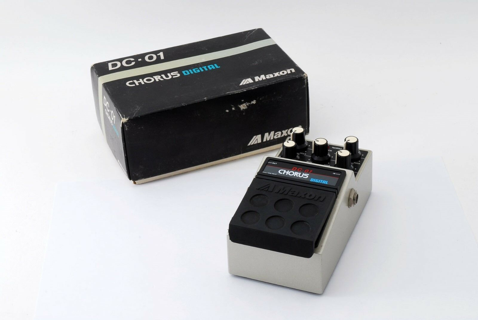 Maxon DC-01, Digital Chorus, Made In Japan, 1980s, Vintage Guitar Effect Pedal S