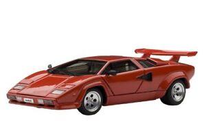 Autoart-54531-1-43-Lamborghini-Countach-5000S-Rojo-Modelo-Cars