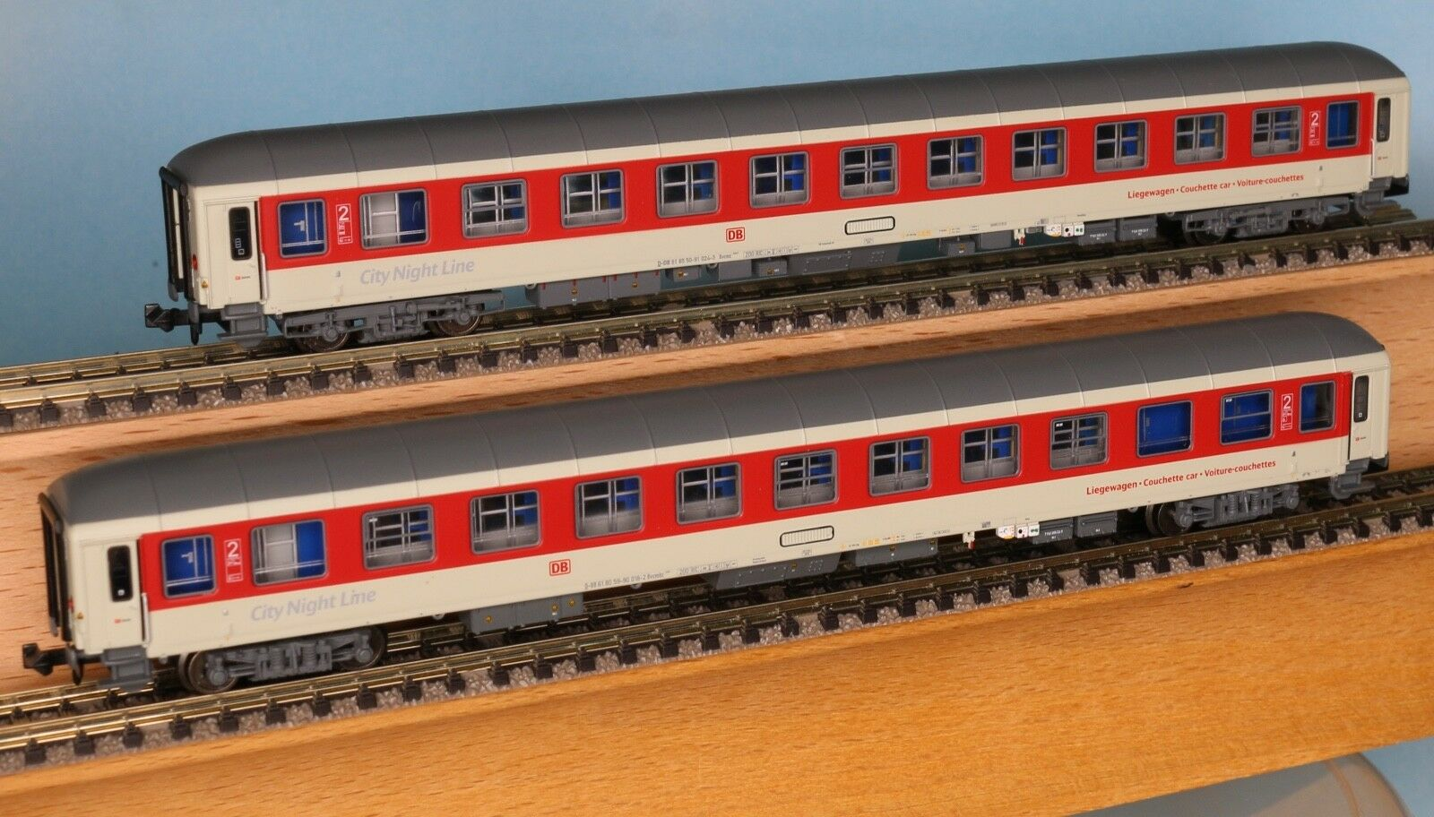 LS Models 79017, Traccia N, CNL Set 2 Pezzi, Rosso-Bianco, ep.5b-6, LS 79017