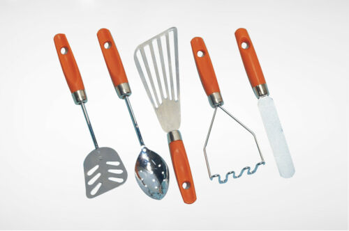 Cre8tive Minds Geared for fun and Learning 5 pc. Kitchen Utensils NEW!!