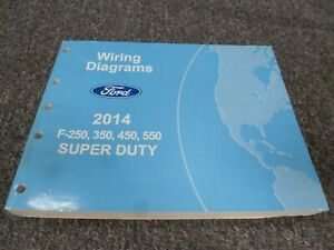 2014 Ford F550 Truck Electrical Wiring Diagrams Manual XL ...