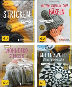 Bücherbuch Stricken Häkeln Filzen Anleitungen Lernenideen