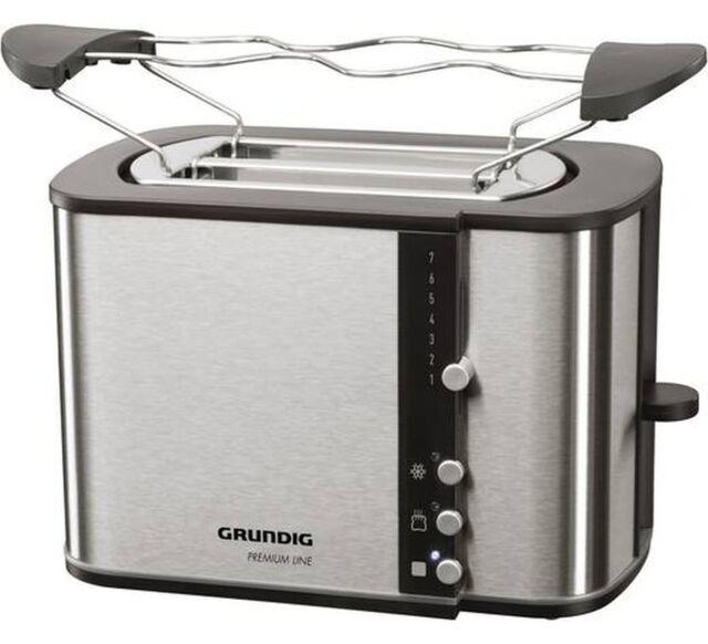 Grundig TA 5260, Toaster (edelstahl/schwarz)