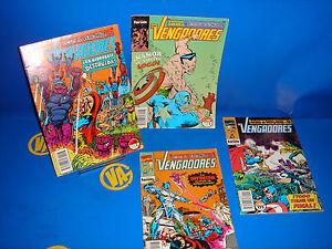 Lote-de-4-comics-LOS-VENGADORES-actos-de-venganza-n-1-3-11-12-buen-estado