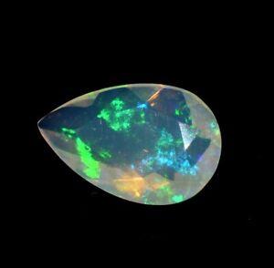 8x10 mm Fire Opal Natural Ethiopian Opal Cabochon White Opal Pear Shape Natural Opal Ethiopian Welo Fire Opal Loose Opal Stone AAA Fire Opal