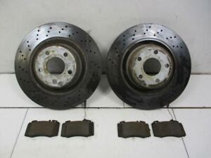 Brake Disc Brake Discs Front Set Brake Pads MERCEDES-BENZ S-CLASS (W220)
