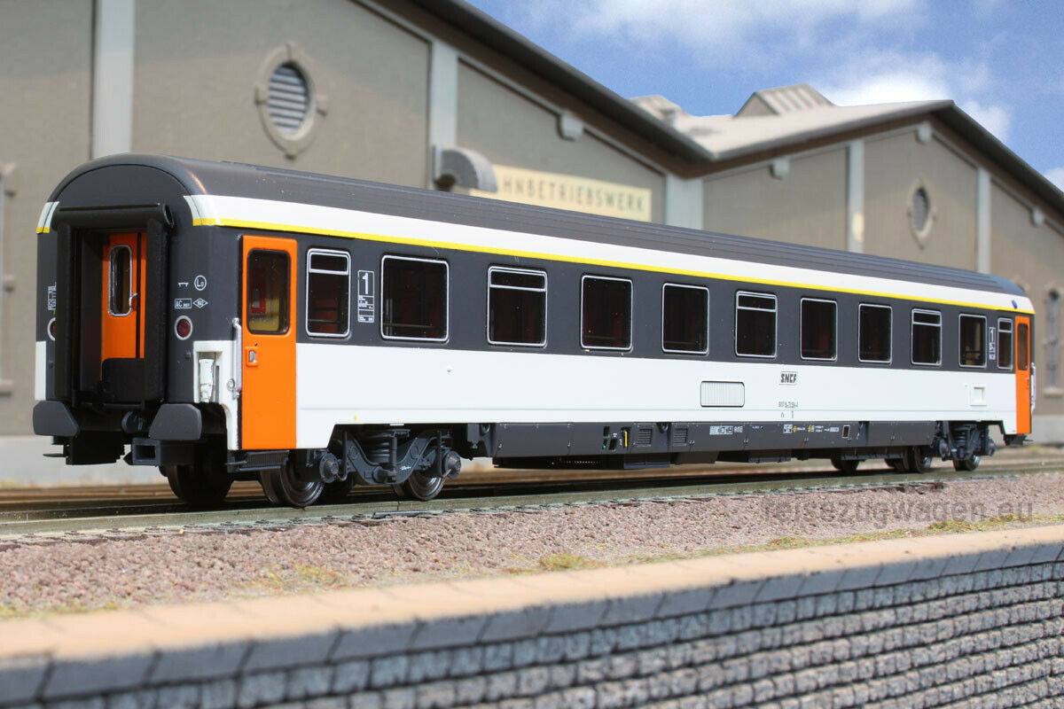LS modelloS L.S. LSM 40353 SNCF VSE A9u EUROFIMA 1.CL CORAIL LOGO ENCADRE NEU OVP