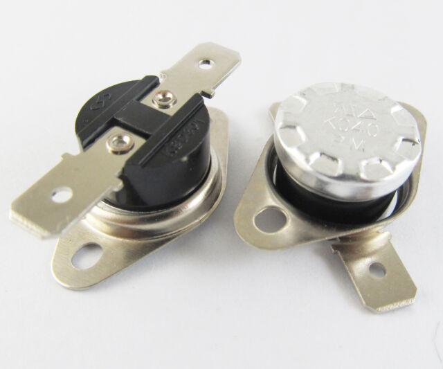 KSD301 5 x Temperature Switch Control Sensor Thermal Thermostat 115°C N.O