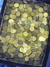 // Lote 1425 monedas de 1 peseta pesetas franco y rey. 5 kg kilos \