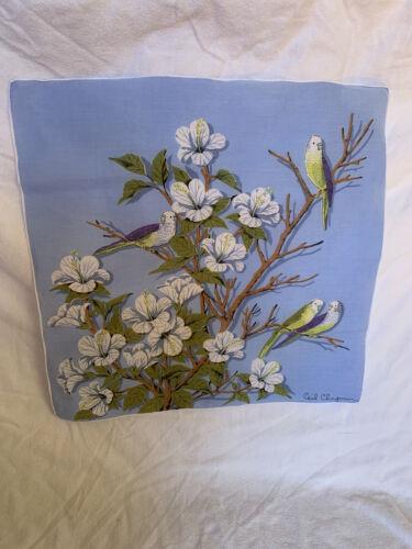 Vintage Designer Handkerchief By Ceil Chapman - image 1