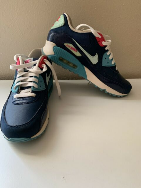 Nike Air Max 90 Sneaker 724821-004 Boy Size 6.5 Youth