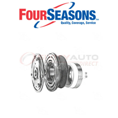 Four Seasons A//C Compressor Clutch Assembly for 1988-1991 Chevrolet K1500 dr