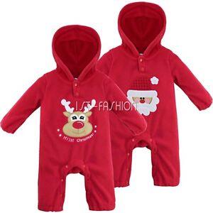 unisex baby overall fleece einteiler strampler mit kapuze. Black Bedroom Furniture Sets. Home Design Ideas