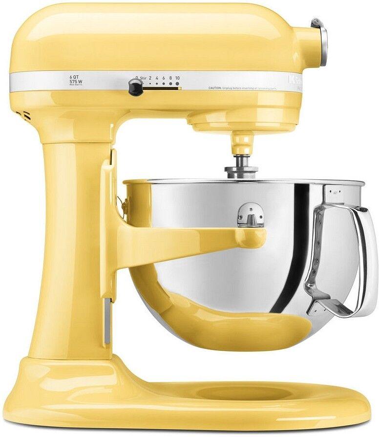 KitchenAid 6 Qt Pro 600 Mélangeur-Majestic jaune