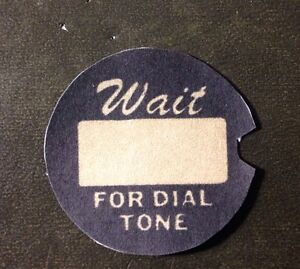 One-New-Western-Electric-telephone-dial-number-card-dial-center-number-card