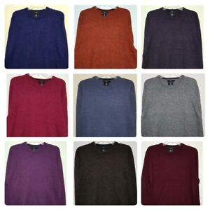 Men-s-New-Debenhams-Lambswool-Blend-Jumper-Sizes-S-to-5XL-Knit-Sweater