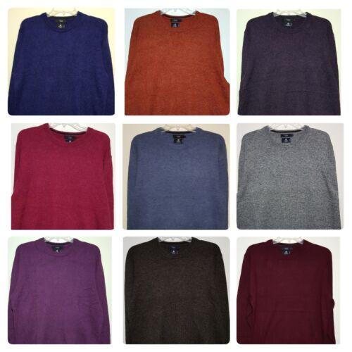 Men`s New Debenhams Lambswool Blend Jumper Sizes S to 5XL Knit Sweater