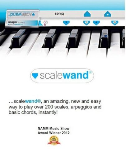 Scales Arpeggios Chords Finder Music Aid Tool Scale Wand Keyboard Piano 200