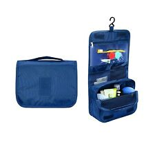 Portable Hanging Toiletry Bag and Travel Organizer for Women Makeup or Men Sh...